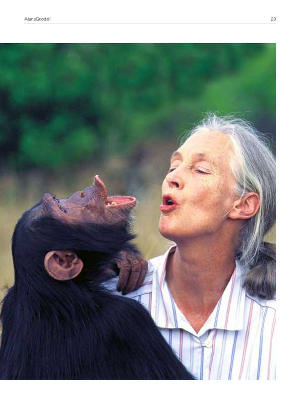 Interview de JAne Goodall dans MOUVEMENT UP 3
